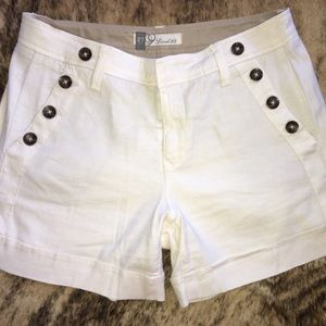 Pants - 2 Pairs of Anthro Linen Shorts